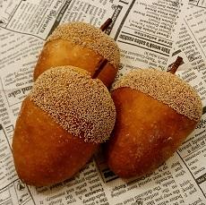 東文化会館 文化講座 パンレッスン 9月メニュー 可愛いどんぐりパン