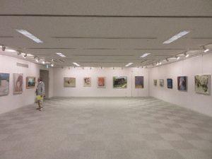 日本画・水墨画展覧会場の様子