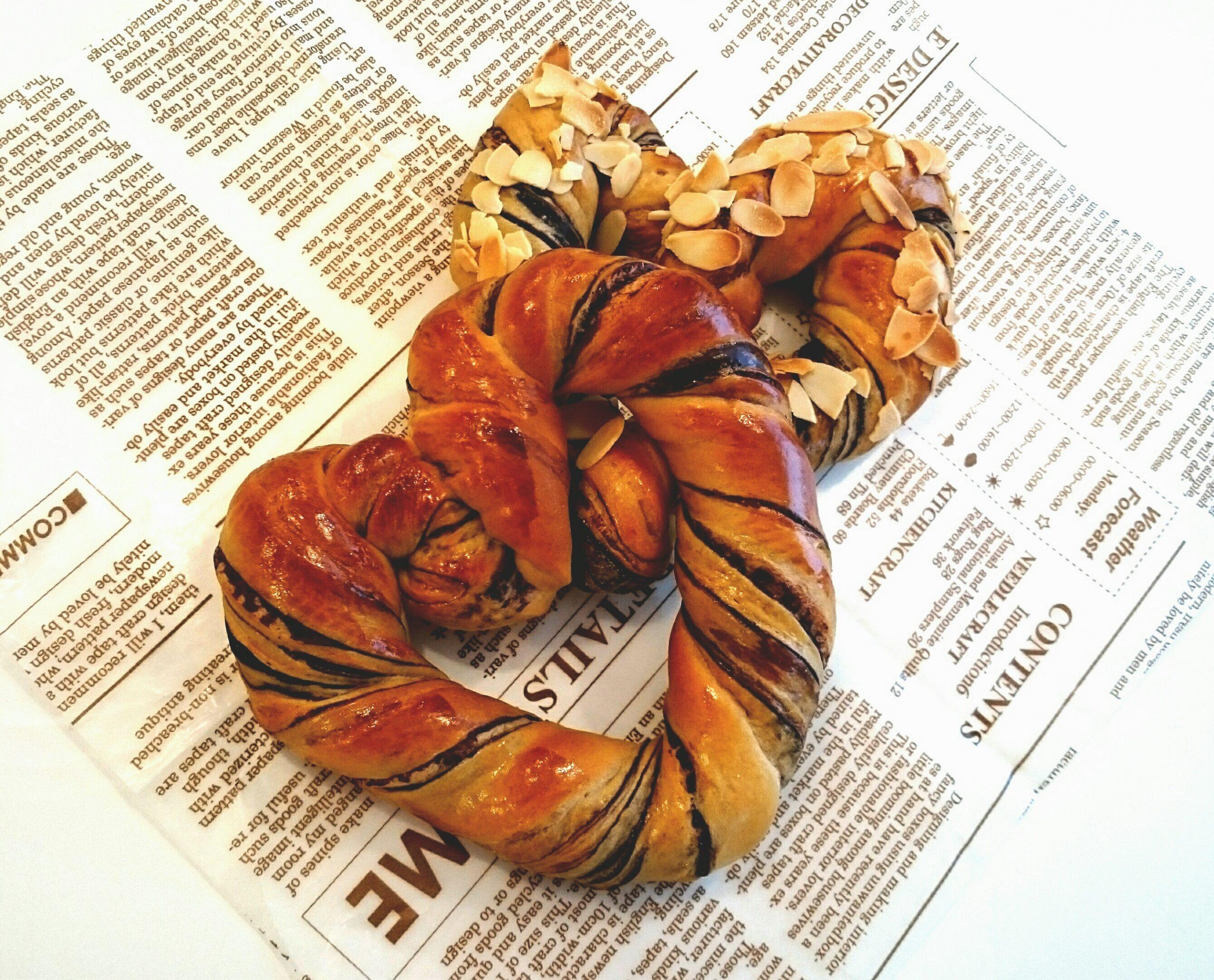 【中止】東文化会館 文化講座 ホームベーカリーを使ったパンレッスン 1月メニュー チョコハート